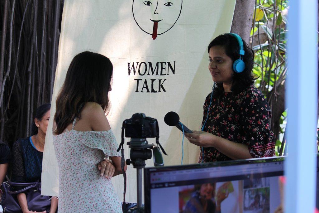 Women Talk booth @ Good Market